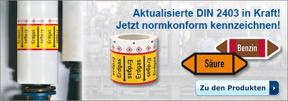 RKZ - Aktualisierte DIN 2403 in Kraft