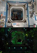 Permalight in der ISS