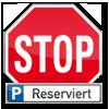 Verkehrsschilder Parkplatzschilder